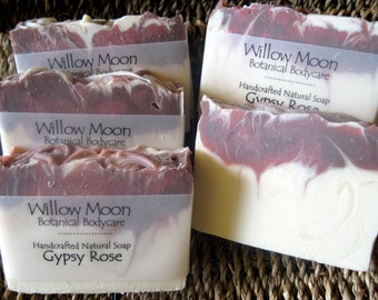 Handcrafted Shea butter Soap Gypsy Rose