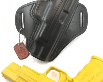 """Springfield XD Mod 2 .40/9/.45 Full size 5"""" * Ready to Ship * - Handcrafted Leather Pistol Holster"""