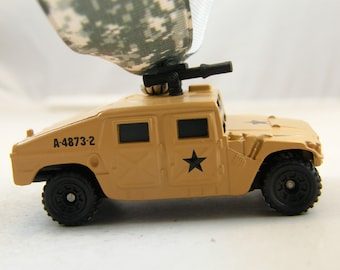 Hummer H1 - FREE SHIPPING - Anytime Ornament - GM Gmc Military - army navy airforce marines - Birthday - Fathers Day - dad - gift - vehicle