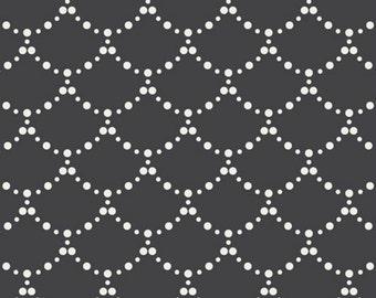 SALE - Art Gallery - Millie Fleur Collection - Ripples in Black
