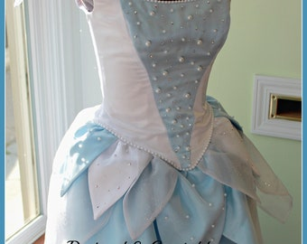 Pearly White Tooth Fairy Costume - Ladies Fairy Costume Dress - Tooth Fairy Costume - Fancy Fairy Dress - Custom made to order Fairy Costume