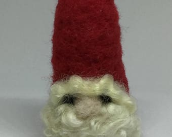 Hand made Felted Gnome Waldorf Inspired