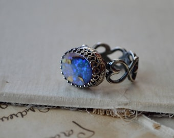 Cultured Opal Ring