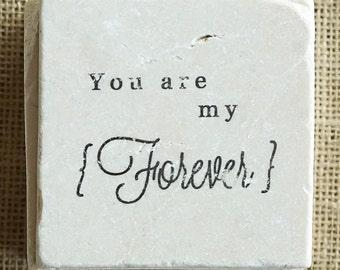 I Love You- Love Gift, I Love You Gift, Love You Gift, Love, Forever, Gift, Decor, Coaster, Stone Coaster, Drink Coaster, Tile Coaster