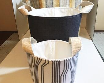 Set of three nesting baskets