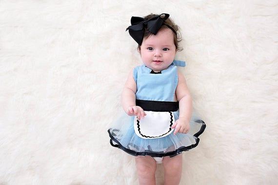 Alice In Wonderland baby costume baby Alice in Wonderland