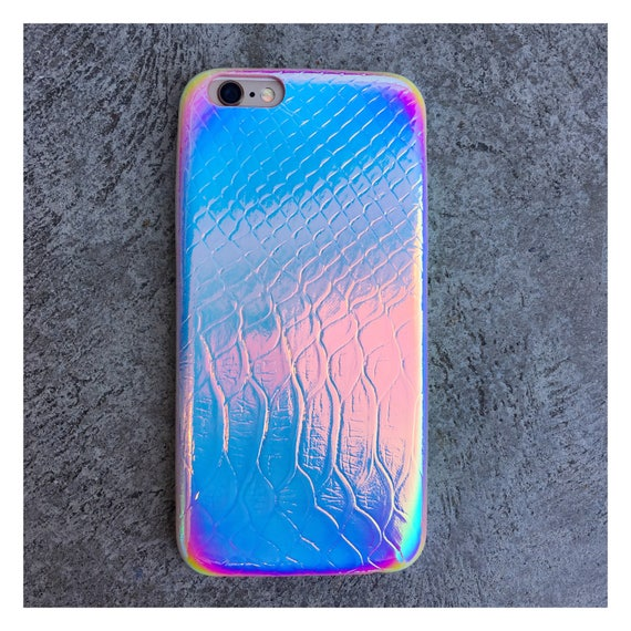 coque holographique iphone 7