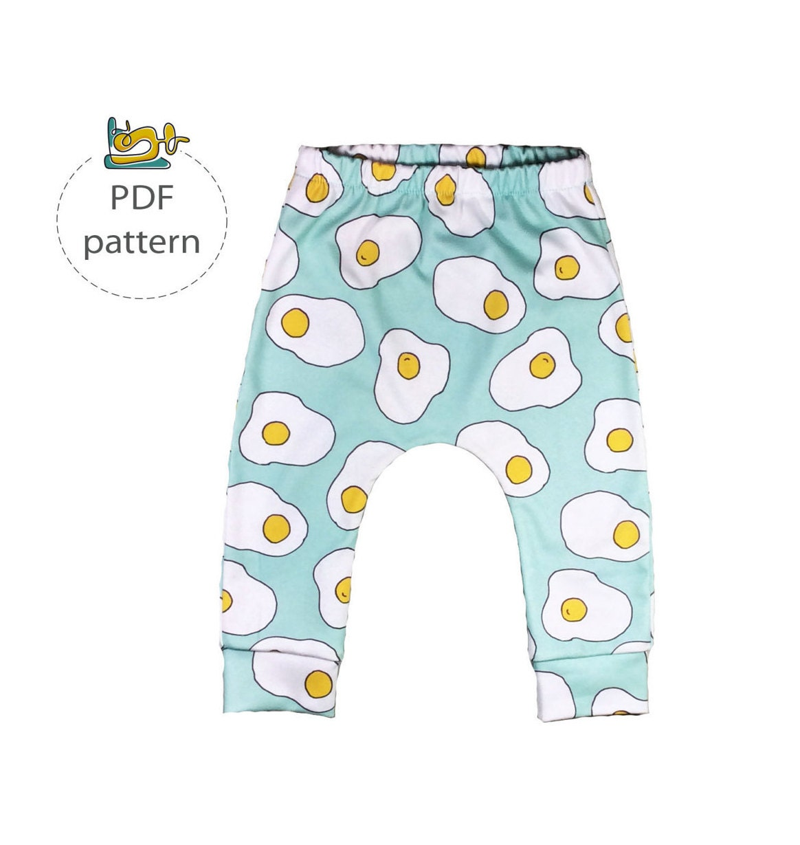 Baby pants pattern pdf sewing pattern baby leggings sewing zoom jeuxipadfo Image collections