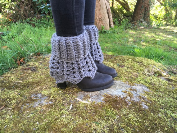 PDF pattern crochet pattern boot cuffs pattern