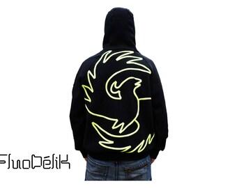 Hoodie fleece PHOENIX made in France