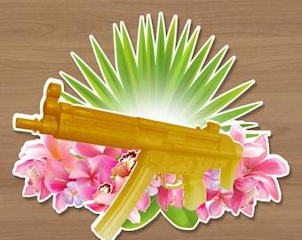 Watergun Sticker
