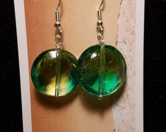 Venetian glass beaded earrings