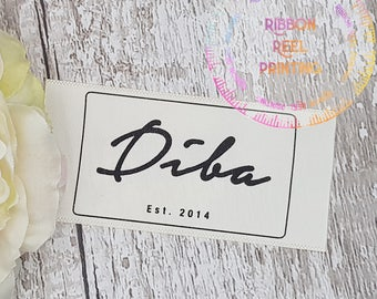 Care Labels / Bespoke Sew In Labels (38mm x 10cm) CE, EN71/3 Approved