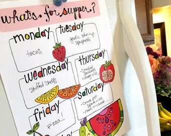 Printable Meal Planner | Weekly Meal Planner: What's for supper?