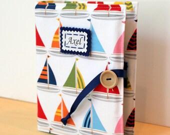nautical sailboat personalized photo album brag book multiple sizes available