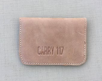 TAN Credit Card Holder, Business Card holder, Handmade in Africa, Ethiopia Carry 117, Fairtrade, Women Empowerment, Leather holder