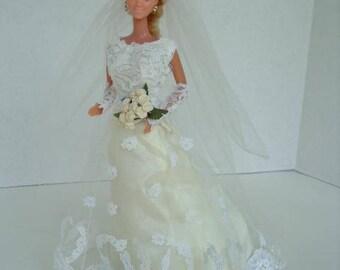 Barbie Elegant Simplicity Wedding Gown Pattern