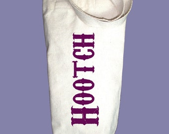Hootch Canvas Alcohol/Wine Gift Bag