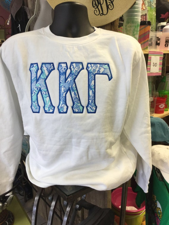 Zeta Tau Alpha Appliqued and Embroidered 1/4 Zip Made with Lilly Pulitzer Jellies Be Jammin Fabric nXDZ0a3