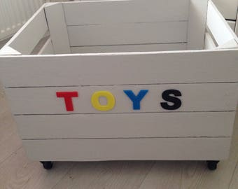 Toy Storage Box Crate Storage Solutions Toy Box
