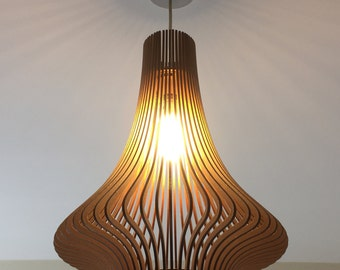 Twisted lasercut wooden lampshade no1 porcelain inspired laser cut wooden lampshade no3 aloadofball Gallery