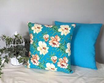 Summer Blossom Cushions, set of 2