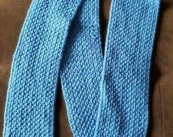 Adult Moss Stitch Scarf