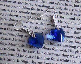 Romantic Royal Blue Earrings