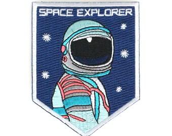 Space Explorer Eisen auf Patch