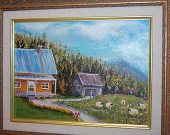 Sheepfold and antique House