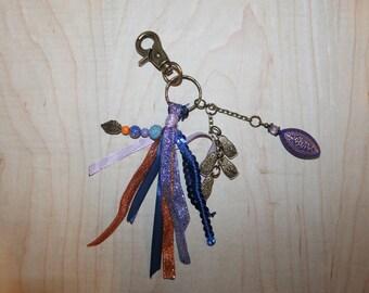 IDEA gift hostess-key charm and purple toned Ribbon