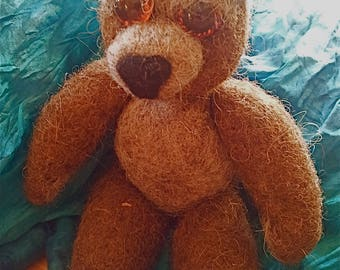 Felt Teddy bear Karl