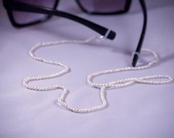 Pearl Eyeglass Lanyard/ Eyeglass chain/ sunglass lanyard