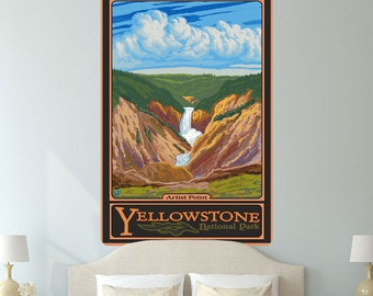 Yellowstone Park Artist Point Wall Decal - #60768