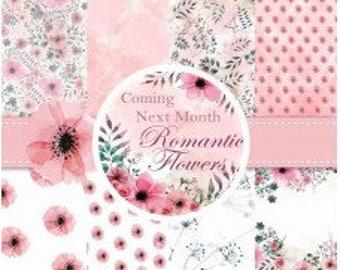Nini's Things Paper Kit - Romantic Flowers - Physical Copy