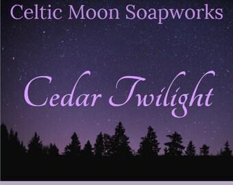 Cedar Twilight Scented Soap - Essential Oil Vegan Soap