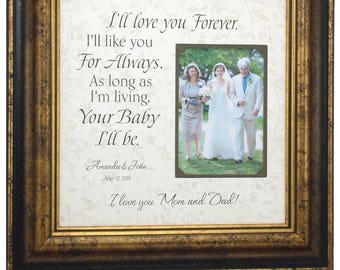 Mother of the Bride Gift, Mother Daughter Gift, Mom Gift, Gift from Bride, love cake topper, Mother Wedding Gift, Wedding Gift Mom, 16x16