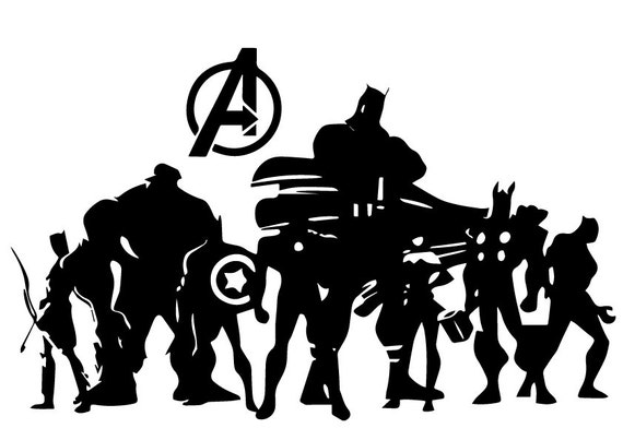 The Avengers Team Svg The Avengers Team Eps The Avengers
