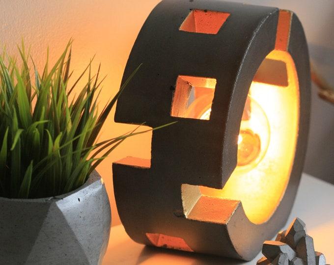 MILLENNIUM Concrete Table Lamp   Concrete Light   Urban   Industrial