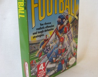 Vintage NES Football Game with Box