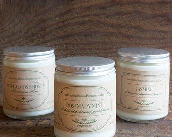 Free Shipping on Three or More Green Gamine Artisan Soy Candles!