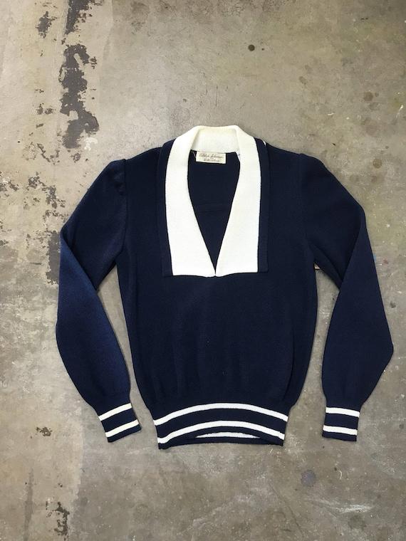Vintage Nautical Sweater