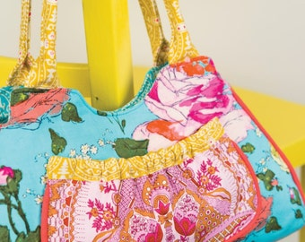 Beautiful Blooms Handbag Sewing Pattern Download (803607)