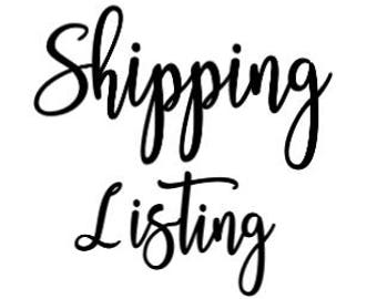 Return Shipping Listing