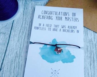 Congratulations gift masters gift graduate gift graduation gift funny university gift