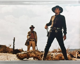 Once Upon a Time in the West Charles Bronson, Henry Fonda, Claudia Cardinale, Jack Elam, movie poster Fridge Magnets and Keyrings - New