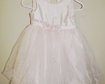 Handcrafted Cherokee PINK Formal Dress Toddler 5T (Free Shipping)