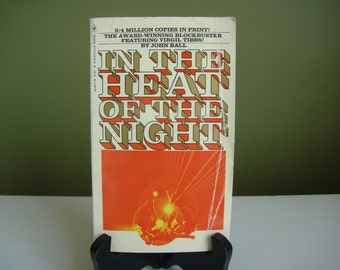 Vintage Paperback Book - In The Heat of The Night - John Ball
