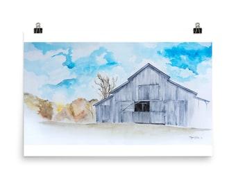 Barn in October
