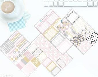 Pretty Modern - Weekly Kit Stickers for Erin Condren Vertical LifePlanner *NEW PREMIUM PAPER!*